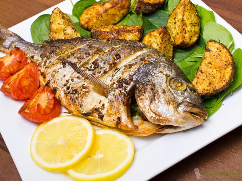 чем питается рыба дорадо самом