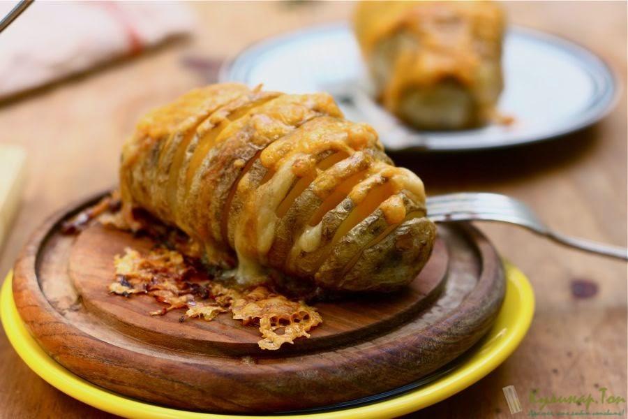 картошка в духовке рецепт в фольге с сыром и