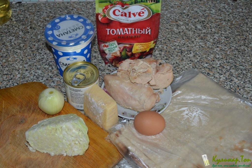 Рецепт роллов пошагово фото курицей