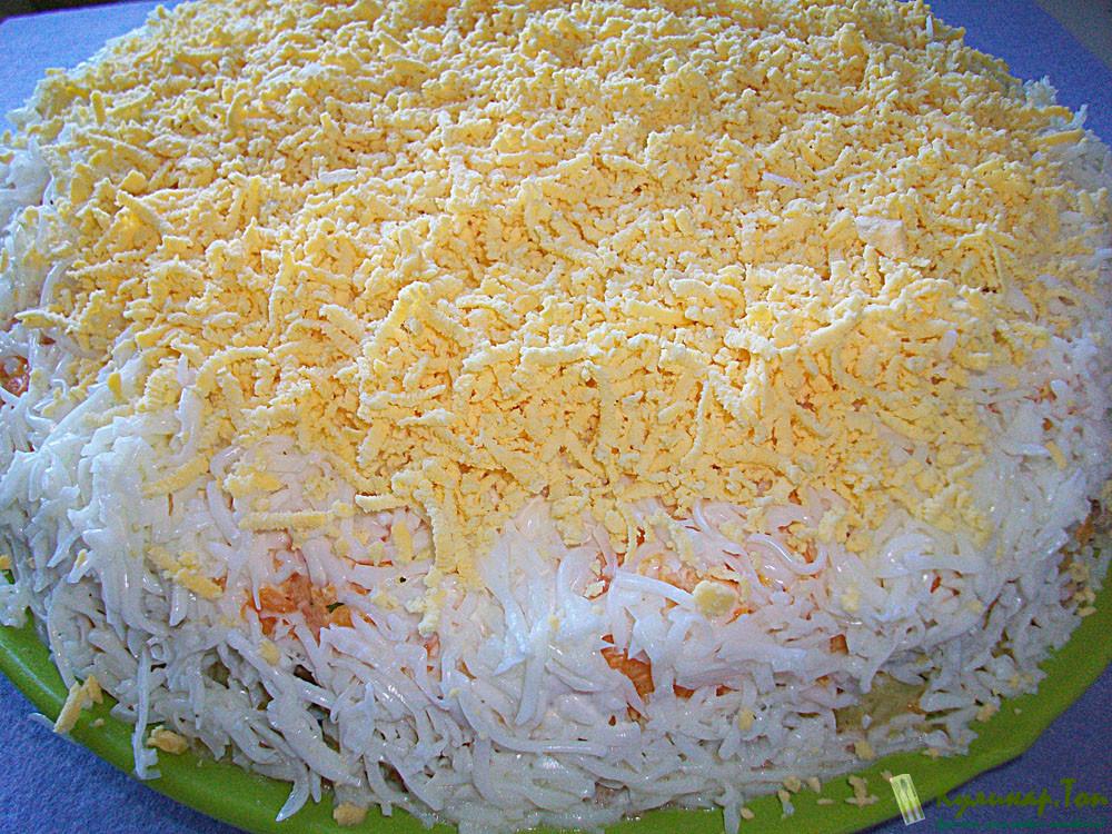 Фото мимозы салат