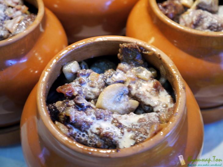 печень в горшочках рецепты с фото