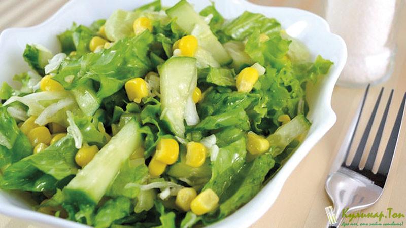 Топ салатов вкусных и простых