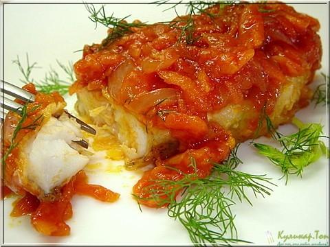 рыбные блюда рецепты с фото