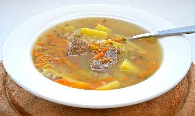 Как сварить суп на говядине
