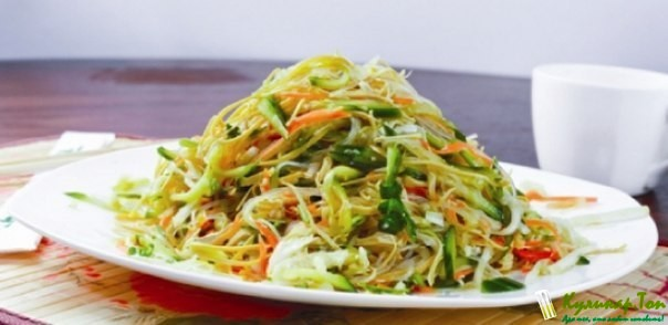 Салат домашний китайский рецепт фото