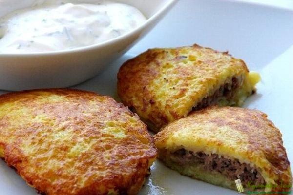 Картофельные драники рецепт пошагово в духовке