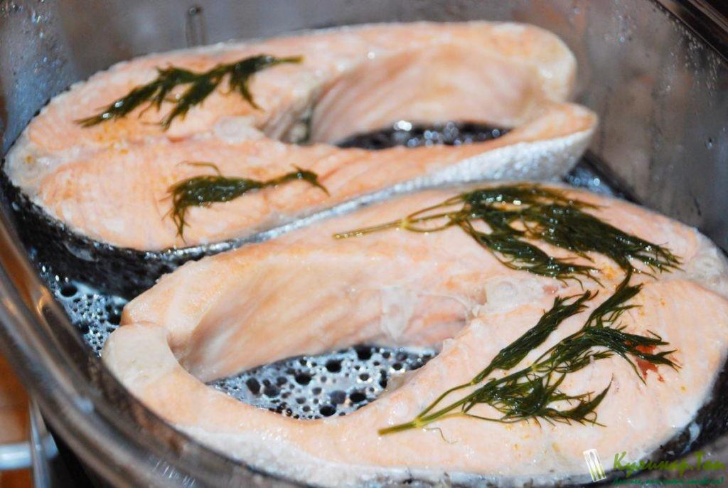 Красная рыба на пару в мультиварке рецепты пошагово