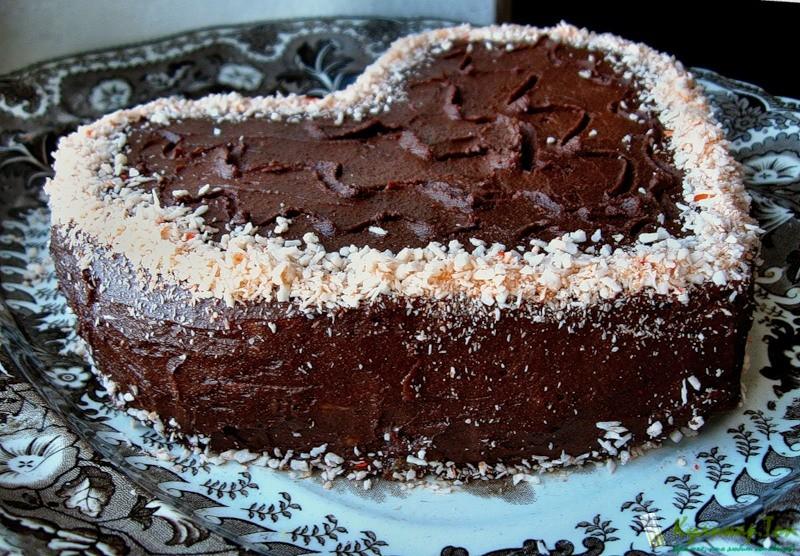 Торт сердце рецепр с фото