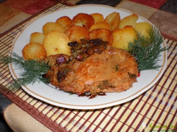 Гарнир духовке рецепт фото