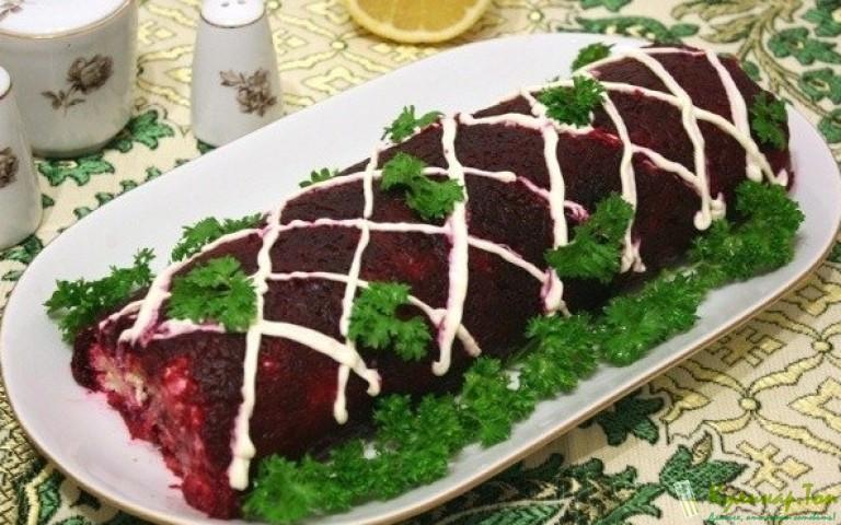Рулет шуба салат рецепт с
