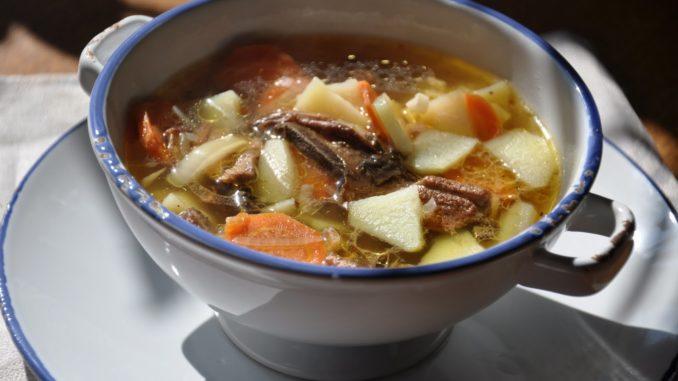 Картофельный суп грибами рецепт фото