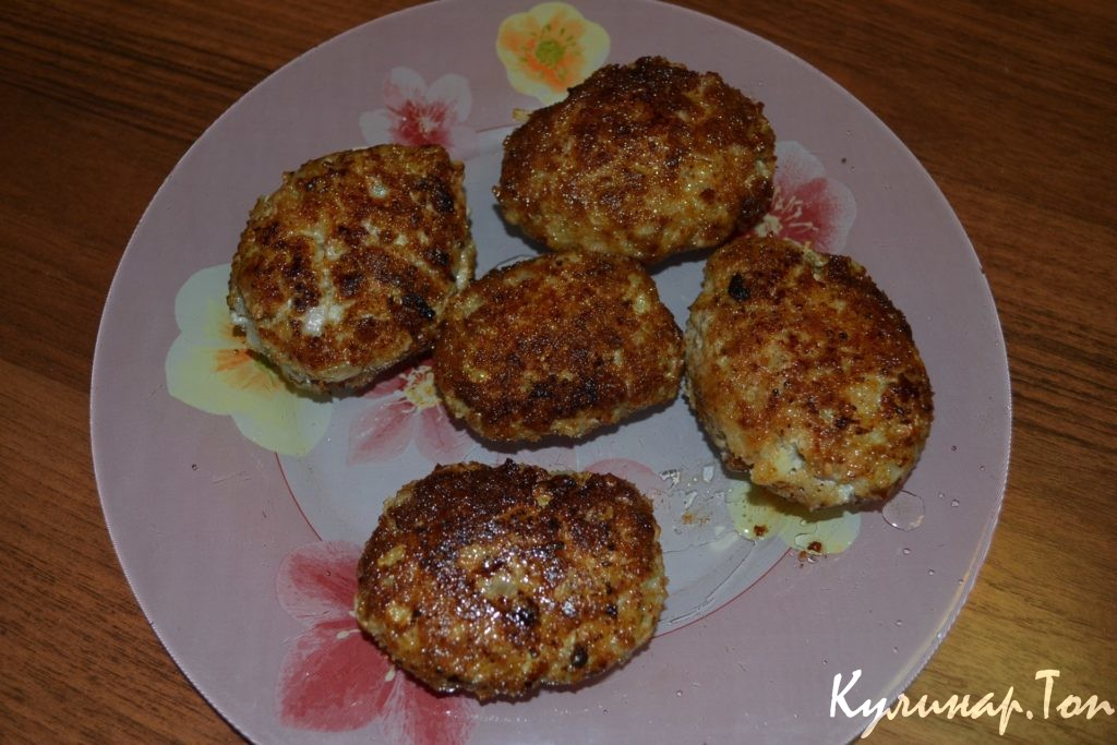 Котлеты из картофельного пюре фото рецепт пошаговый