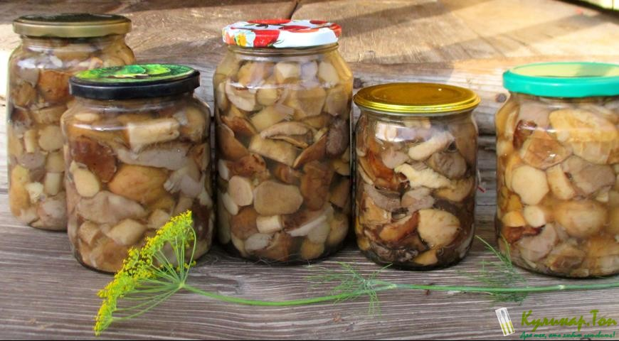 Рецепт маринованных грибов шампиньонов на зиму