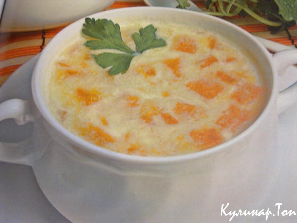 Молочный суп с морковью рецепт