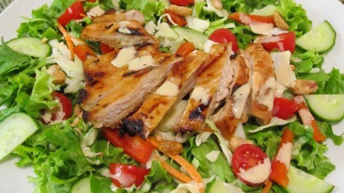 Куринной грудки салат фото рецепт