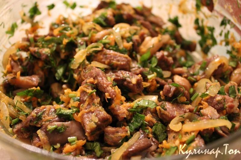 Салат из вешенок рецепт