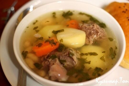 Суп из говядины с картофелем рецепт