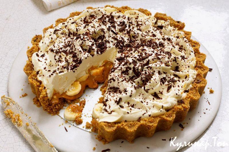 Рецепт торта баноффи