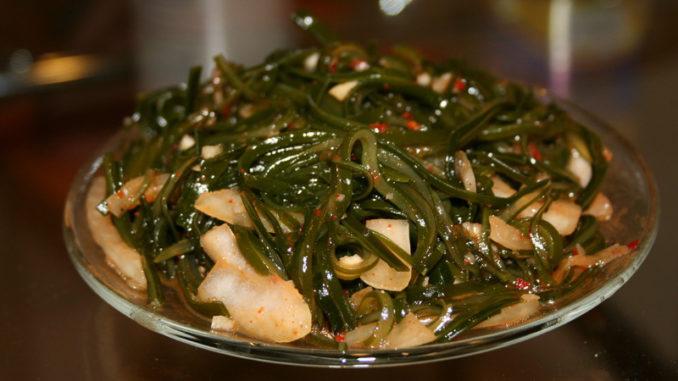 Салат из морской капусты Кулинар.Топ
