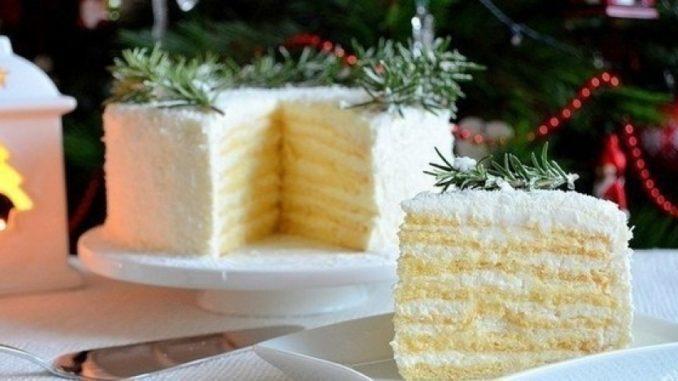Рецепты тортов с кокосовой стружкой и фото