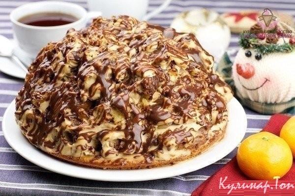 рецепт торта кучерявый пинчер с фото