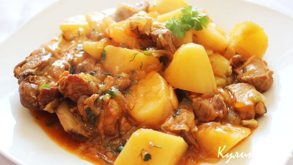 Рецепт жаркое из свинины с картошкой