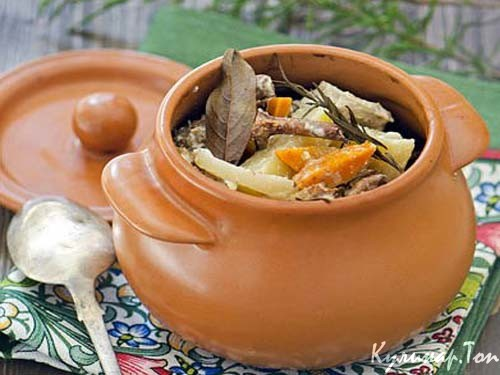 рецепт жаркое индейки в духовке