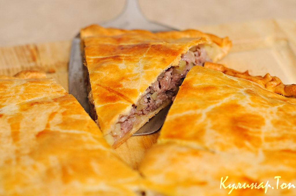 Фото рецепты пирогов с мясом