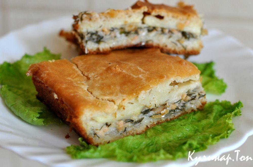 Пирог из рыбных консервов в духовке на скорую руку рецепты пошагово