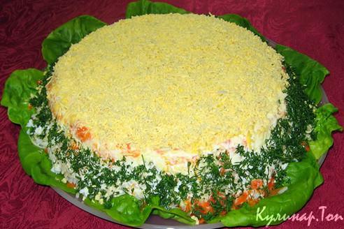 Рецепты салатов со свежих огурцов 191