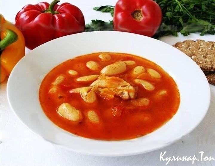 Суп с фасолью рецепт приготовления в домашних