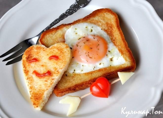 Быстрый легкий завтрак рецепт с фото