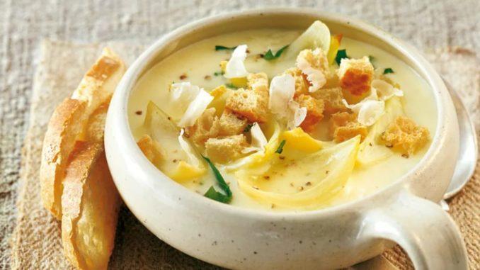 Сырный луковый суп рецепт