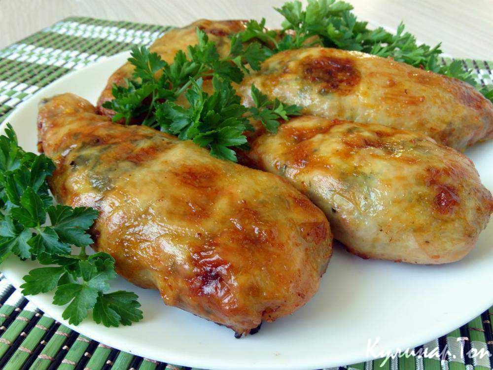 Рецепт фаршированных грибами куриных ножек в духовке с