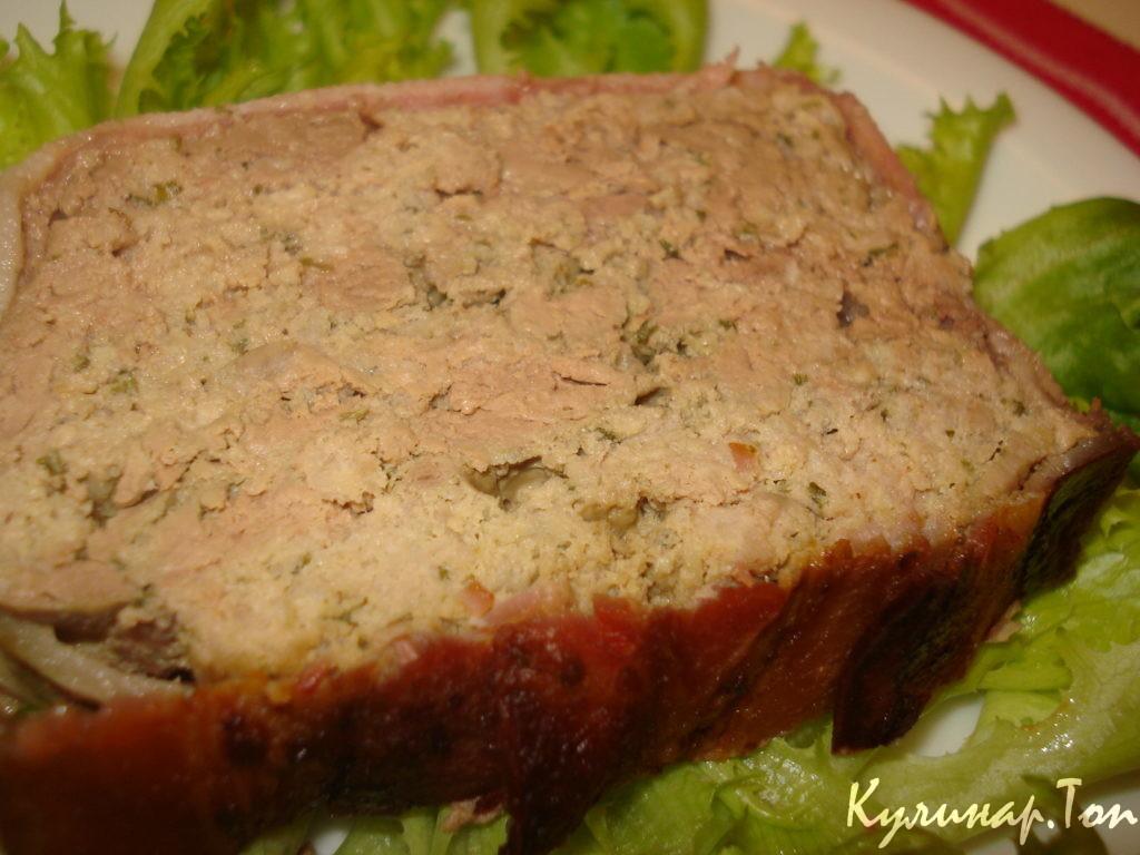мясной паштет рецепт с фото