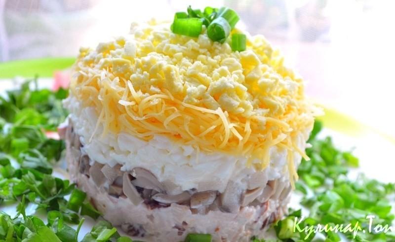 вкусные салаты.рецепты.фото