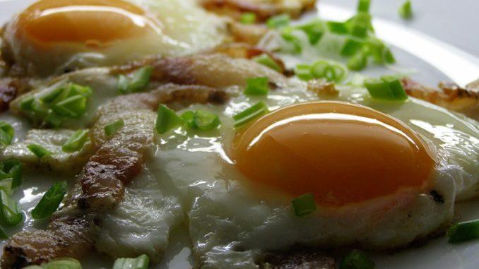 яичница с салом рецепт с фото