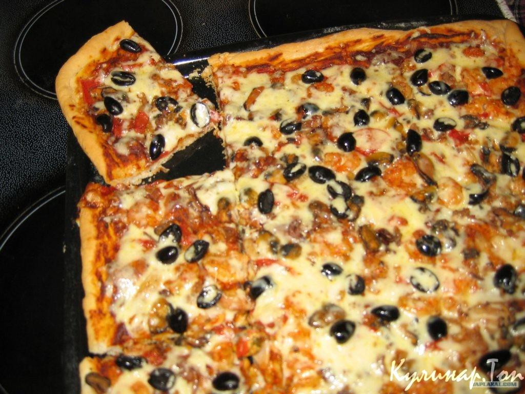 Как приготовить пиццу в домашних условиях: фото и видео