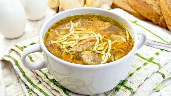 Суп из сушеных грибов с вермишелью и картофелем рецепт с фото пошагово