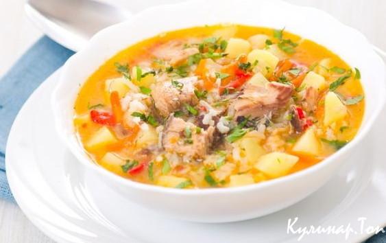 Полезный рыбный суп